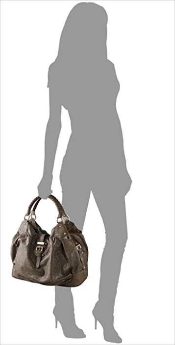 HALSTON Brandy Stingray Satchel