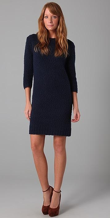 HALSTON Chunky Sweater Dress