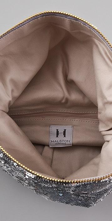 HALSTON Jenny Fold Clutch