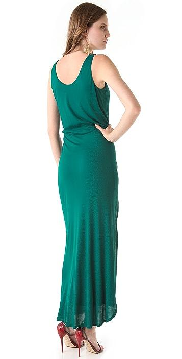 Halston Heritage Interlock Sleeveless Dress