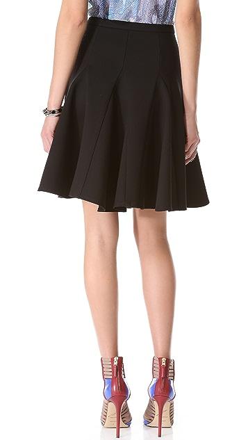 Halston Heritage Ponte Circle Skirt
