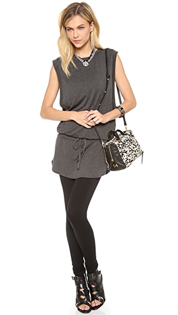 Halston Heritage Haircalf Baby Satchel