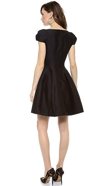 Halston Heritage Notch Neck Dress