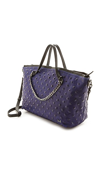 Halston Heritage East West Chain Satchel
