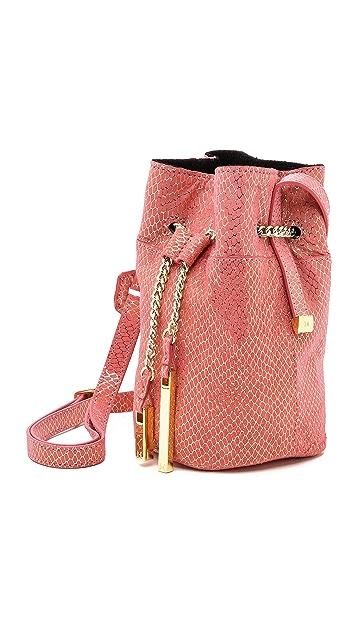 Halston Heritage Mini Bucket Bag