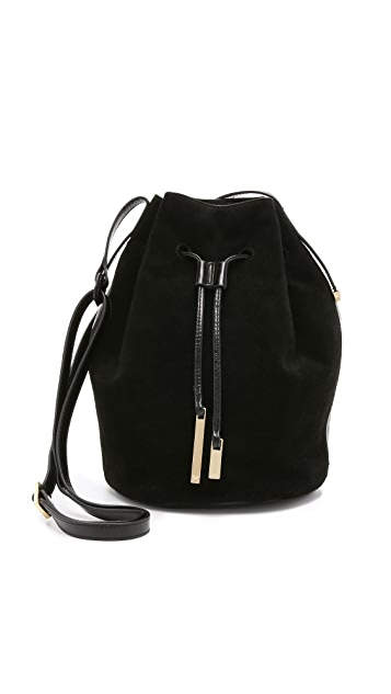 c6793d875fed Halston Heritage Drawstring Bucket Bag