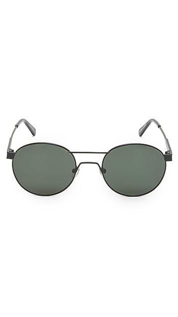 Han Kjobenhavn Green Round Sunglasses