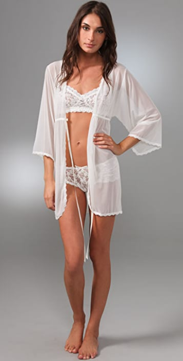 Hanky Panky Stretch Tulle Bed Jacket