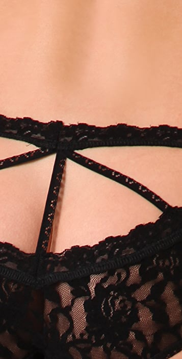 Hanky Panky Black Widow Briefs