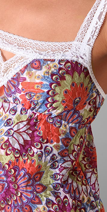 Hanky Panky Byzantium Baby Doll Chemise with G-String