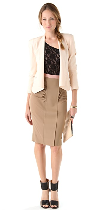 Hanky Panky Signature Lace Asymmetric Bodysuit
