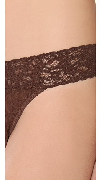 Hanky Panky Signature Lace Original Rise Thong 5 Pack