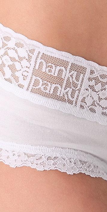Hanky Panky Modal V Front Boy Shorts