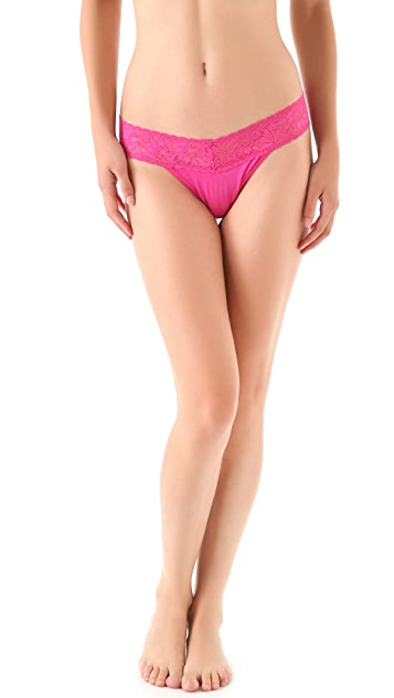 Hanky Panky Modal Mid Rise Thong 5 Pack