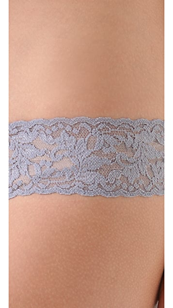 Hanky Panky Sparkle Box with 3 Low Rise Thongs