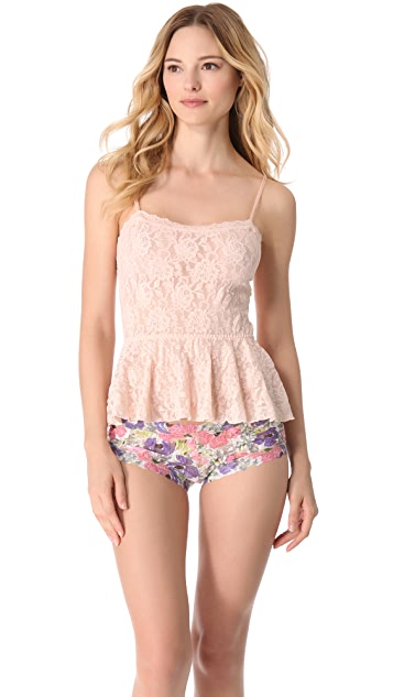 Hanky Panky Poppies Boy Shorts