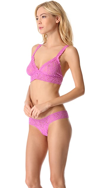 Hanky Panky Signature Lace Crossover Bralette
