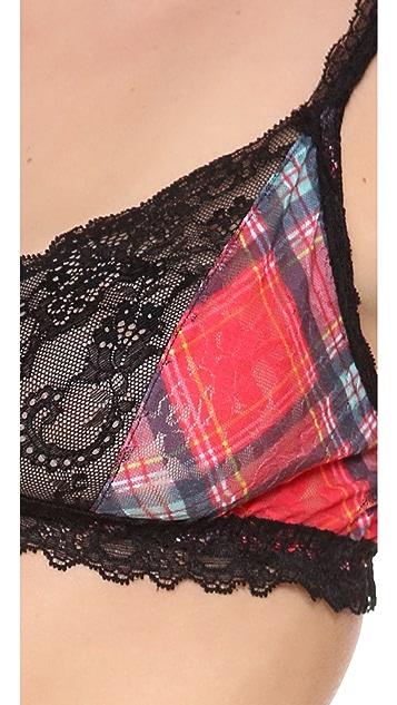 Hanky Panky Highland Tartan Lace Bralette