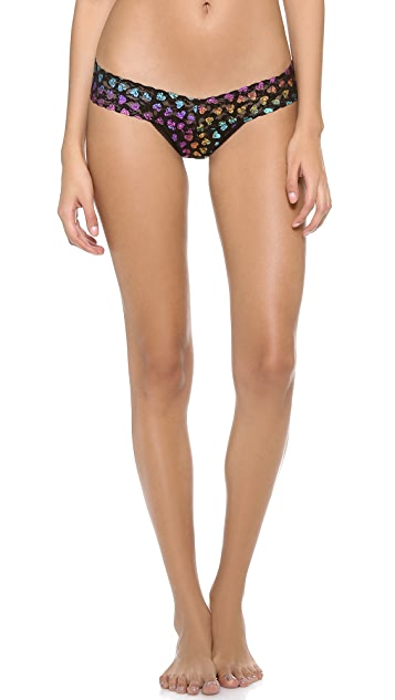 Hanky Panky Love Shimmer Low Rise Thong