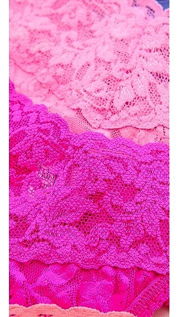 Hanky Panky Signature Lace 5 Original Rise Thongs