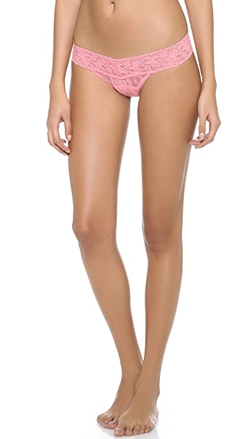 Hanky Panky Signature Lace 5 Low Rise Thong