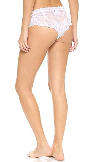 Hanky Panky Swan Lace Brazilian Bikini Briefs