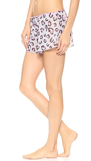 Hanky Panky Purrfectly Sheer Tap Shorts