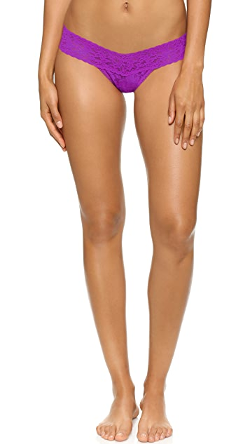 Hanky Panky Valentines Day 3 Low Rise Thongs