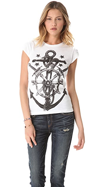 Happiness Anchor Tee
