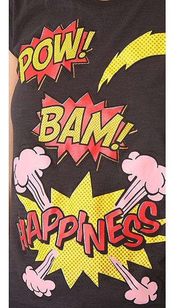 Happiness Boom Boom Pow! Tee
