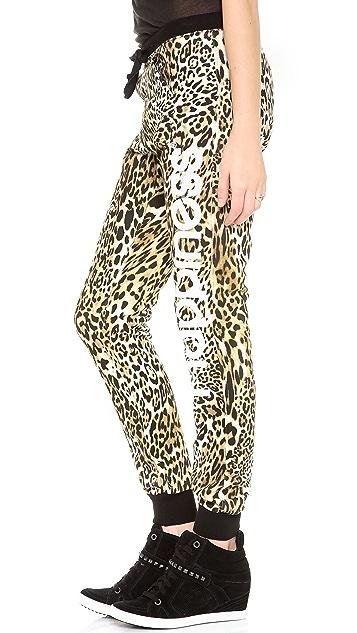 Happiness Leopard Sweatpants