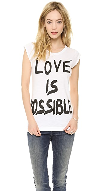 Happiness Love is Possible Tee