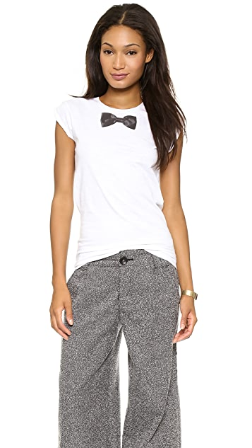 Happiness Bow Tie Tee