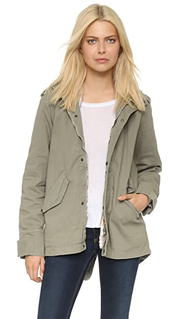 Happiness Short Military Parka