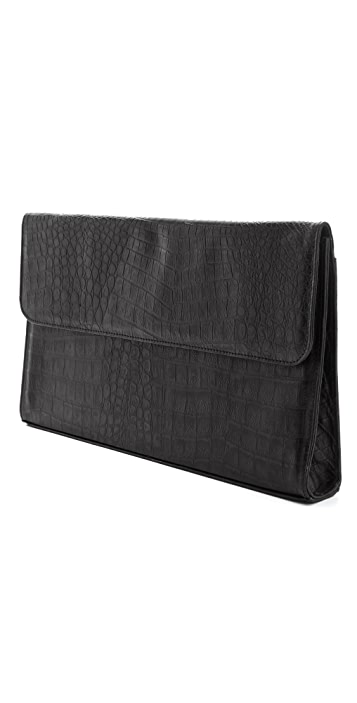 Hare + Hart Selby Brief Oversized Clutch
