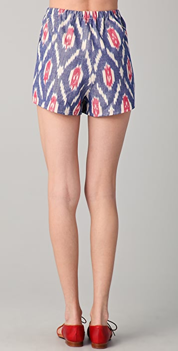 Harvey Faircloth Ikat Shorts