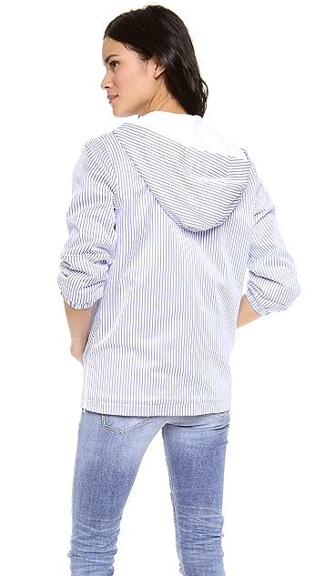 Harvey Faircloth Striped Hoodie