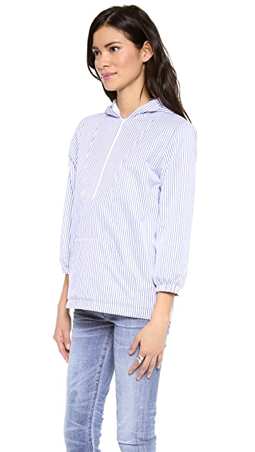Harvey Faircloth Striped Hoodie