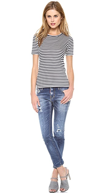 Harvey Faircloth Sailor Stripe Tee