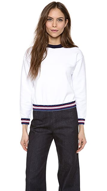 Harvey Faircloth Banded Sweatshirt