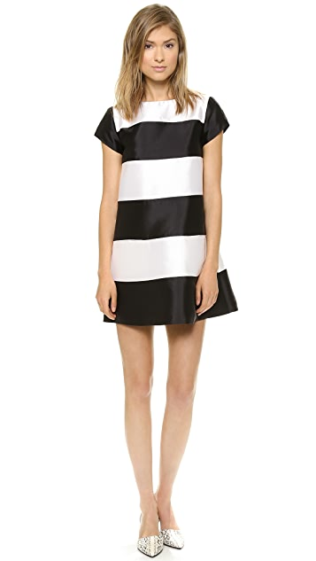 Harvey Faircloth Panel A Line Dress