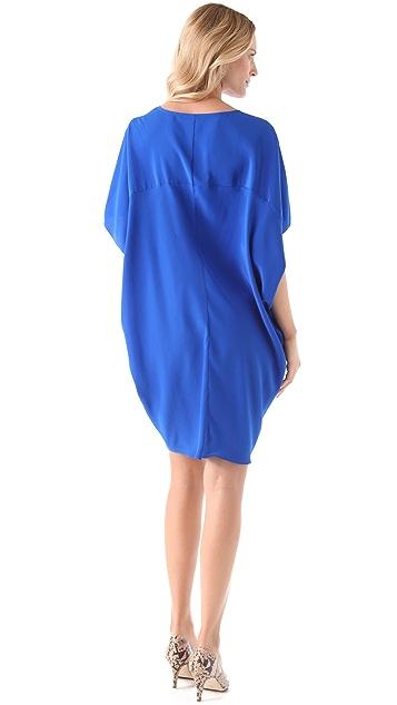 HATCH Short Silk Slouch Dress