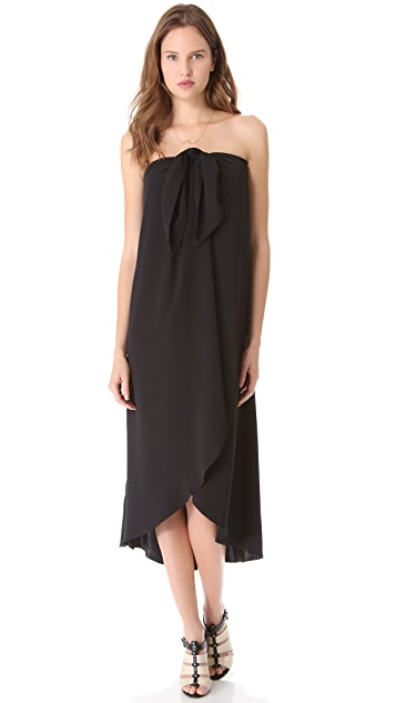 HATCH The Tie-Front Dress