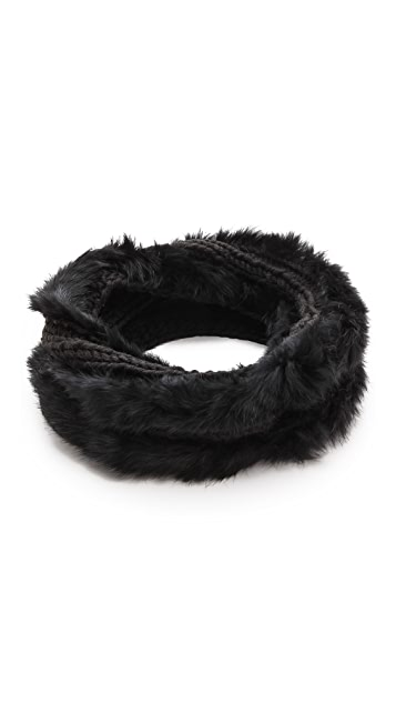 Hat Attack Knit & Rabbit Loop Scarf