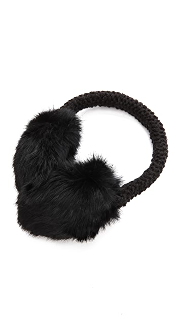 Hat Attack Knit & Rabbit Earmuffs