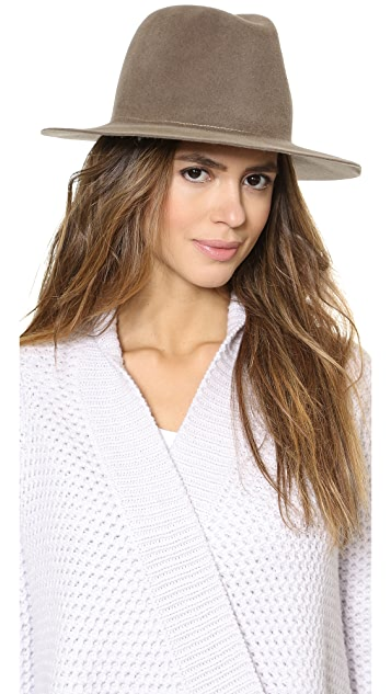 Hat Attack Velour Medium Brim Floppy Hat