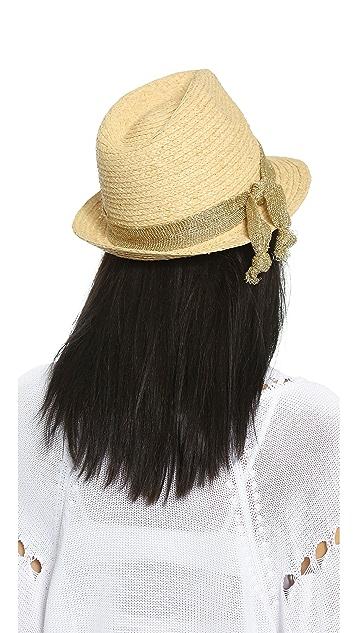 Hat Attack Raffia Braid Fedora