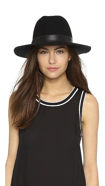 Hat Attack Wool Felt Medium Brim Hat