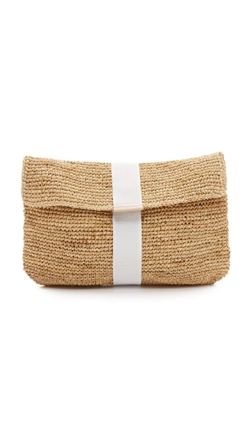 Hat Attack Ribbon Clutch