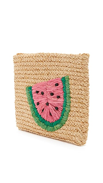 Hat Attack Watermelon Clutch